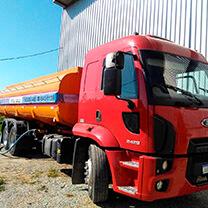 Transporte de Água na Cidade AE Carvalho