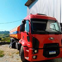 Transporte de Água Potável no Tucuruvi